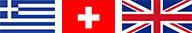 Greece / Switzerland / UK Flag