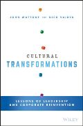 Cultural Transformations – Lessons of Leadership and Corporate Reinvention